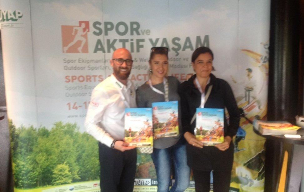 Spor ve Aktif Yaşam Fuarı Çalışması
